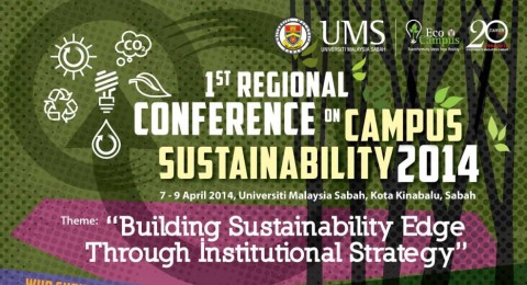 1st Regional Conference On Campus Sustainability 2014