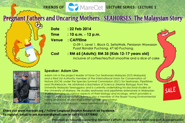 Friends of MareCet Lecture Series- SEAHORSE