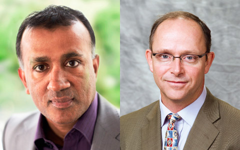 "Nair Chandran and Nick Parker, featured in ""The Greentech Future"""