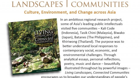 Invitation to API book launch 'Living Landscapes: Connected Communities'