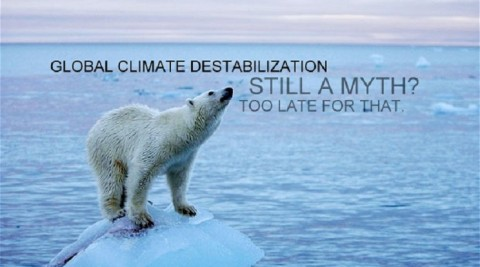 Global Climate Destabilization – Still a Myth? A Personal Sharing