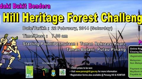 Penang Hill Heritage Forest Challenge