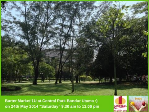 Barter Market at 1 Utama's Central Park, Bandar Utama.