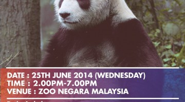 Panda Opening Ceremony in Zoo Negara