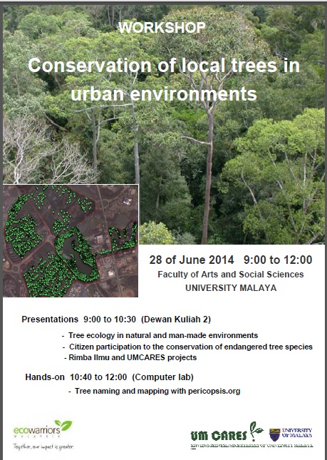 "Tree Mapping – ""Conservation of local trees in urban environments"""