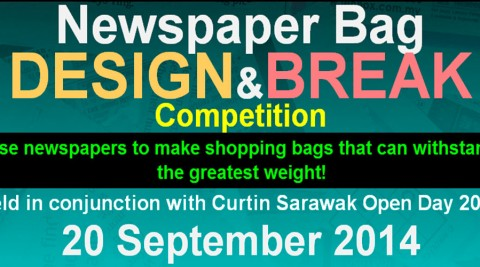 Newspaper Bag Design & Break Competition 2014