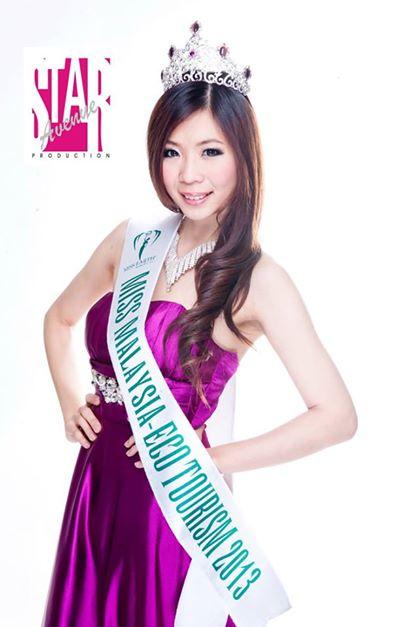Miss Malaysia Eco-Tourism 2013