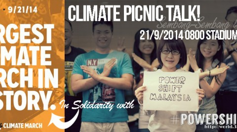 #PEOPLESCLIMATE Picnic Talk! (In Conjunction with the Largest Climate March in History)