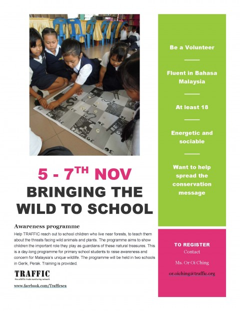 TRAFFIC's School Outreach in Gerik