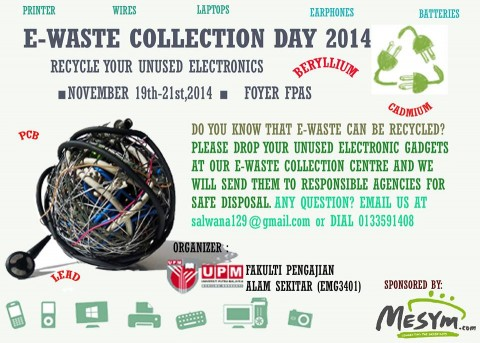 E-waste Collection Day 2014