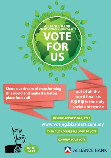 Vote for the Biji Biji Initiative