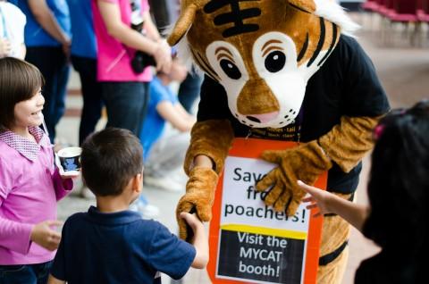 MYCAT Tiger Roadshow @ KL Kids Festival