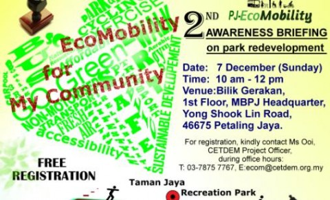 2nd Awareness Briefing on Taman Jaya Recreation Park Redevelopment