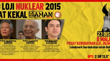 FORUM: Loji Nuklear 2015 – Mudarat Kekal!