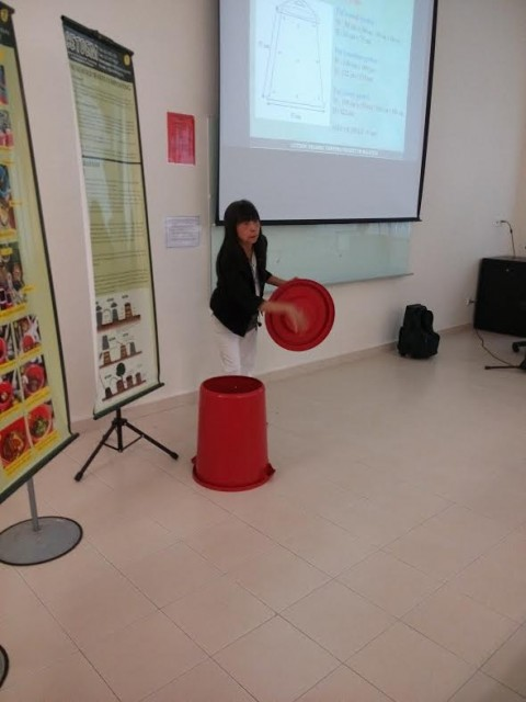 Talk on Household Bin Composting & Organic Kitchen Gardening in Melaka