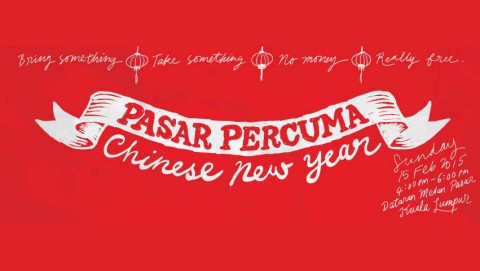 Pasar Percuma 2015 Pre-CNY edition