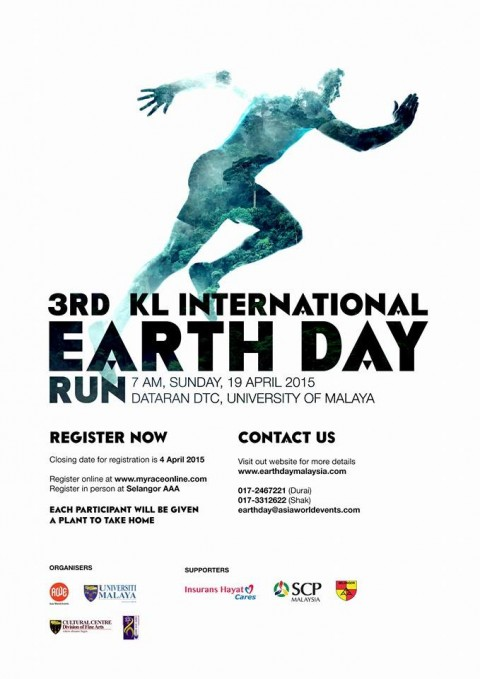 3rd KL International Earth Day Run