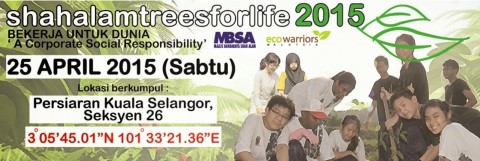 Shah Alam Trees for Life – April 2015