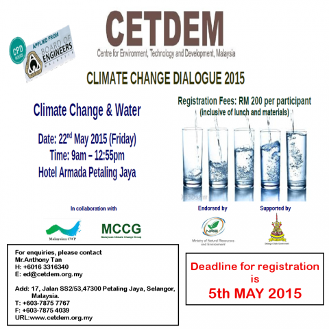Climate Change Dialogue 2015