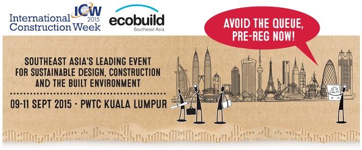 Ecobuild SEA 2015
