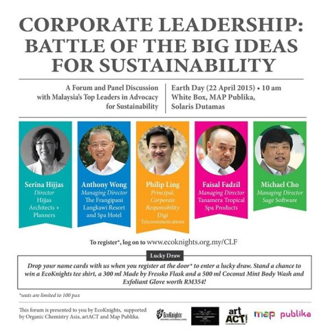 Key Ideas from the 'Corporate Leadership: Battle of the Big Ideas for Sustainability' event.