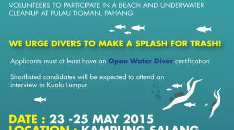 Divers, volunteer now!