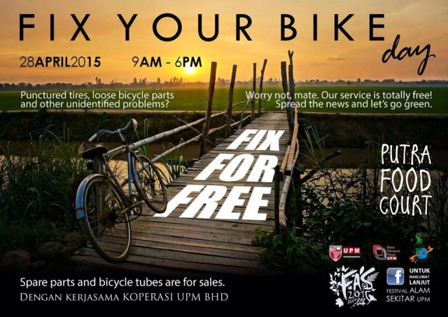 FIX YOUR BIKE DAY