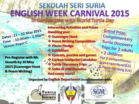 English Week Carnival