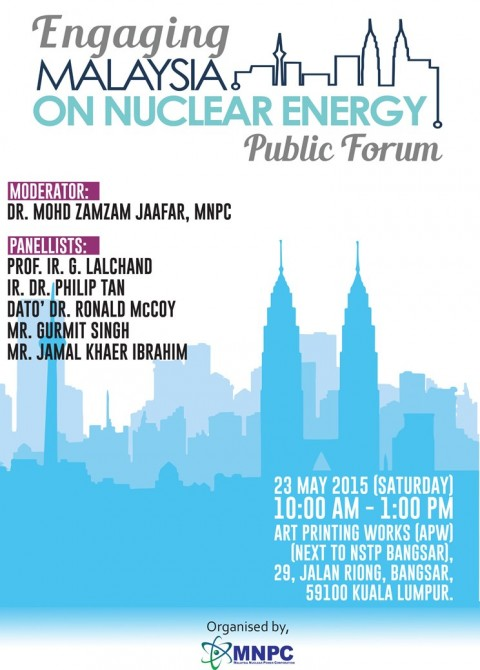 Public Forum: Engaging Malaysia on Nuclear Energy