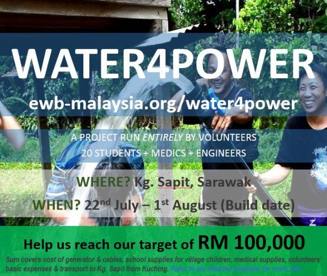 Help us reach our target!
