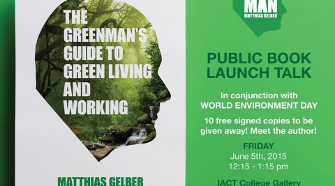 "Public Book Launch ""The Greenman's Guide to Green Living and Working"""