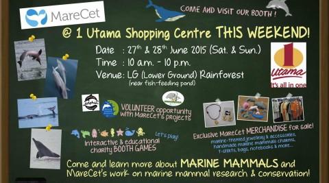 MareCet @ 1 Utama Shopping Centre This Weekend