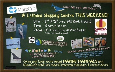 MareCet @ 1 Utama Shopping Centre This Weekend
