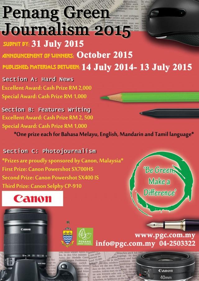 Penang Green Journalism 2015