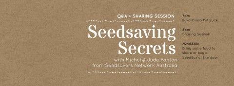 Sharing Session: Seedsaving Secrets with Michel & Jude Fanton