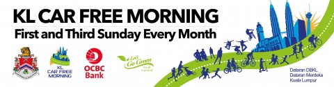 KL Car Free Morning – Sunday 2nd August