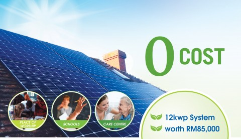 FREE Solar for Community – School, Place of Worship & Care Center