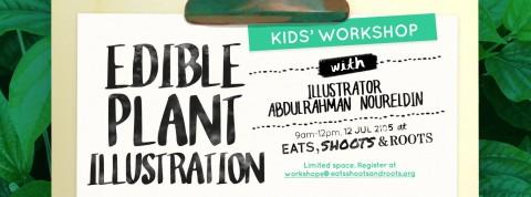 Edible Plant Illustration Workshop (for kids!)