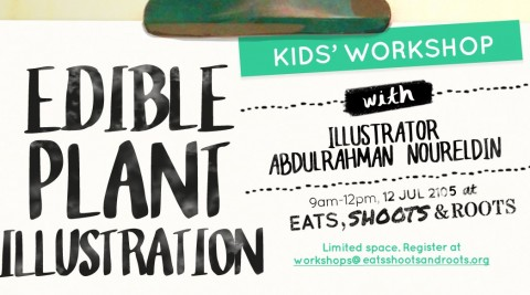 Edible Plant Illustration Workshop (for kids!)