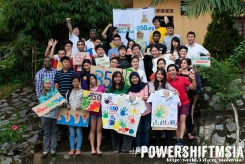 Kajang, Selangor #PowerShiftMsia 2013
