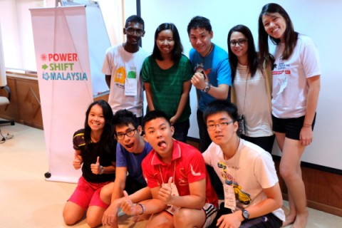 #PowerShiftMsia volunteers
