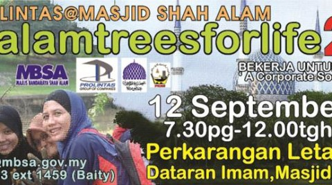 Shah Alam Trees for Life – 12 September 2015
