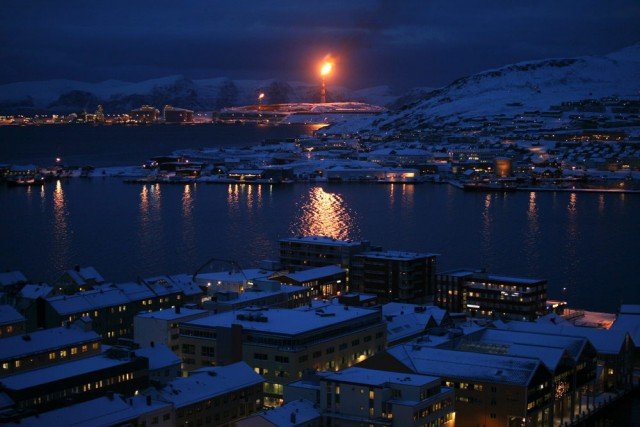 Snøhvit, Norway  Norway's Snøhvit, or Snow White, is the northernmost natural gas facility in the world—and some oil companies' model for the future of the Arctic. Source: McKenzie Funk