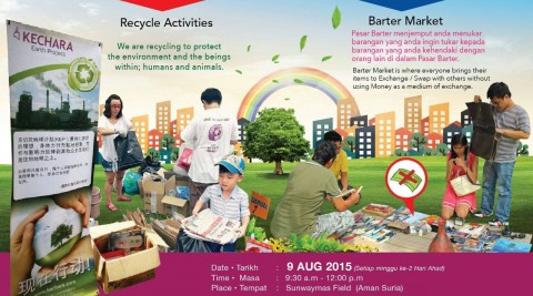 Barter Market + Recycle Actitivites