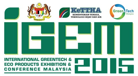 International Greentech & Eco Products Exhibition & Conference Malaysia 2015 (IGEM 2015)