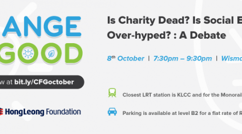 CFG presents: Is Charity Dead? Is Social Enterprise Over-Hyped? A Debate