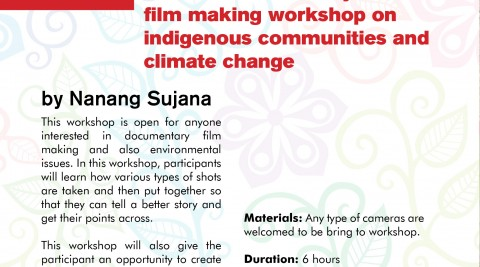 Voicing the Voiceless – A documentary film making workshop on indigenous communities and climate change