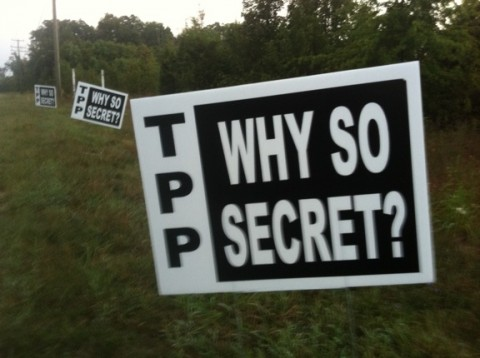 Why is TPP so secret?