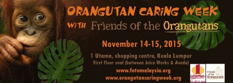 World Orangutan Caring Week in Malaysia