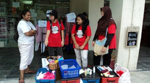 Green Living Collaboration With Kedai Jalanan